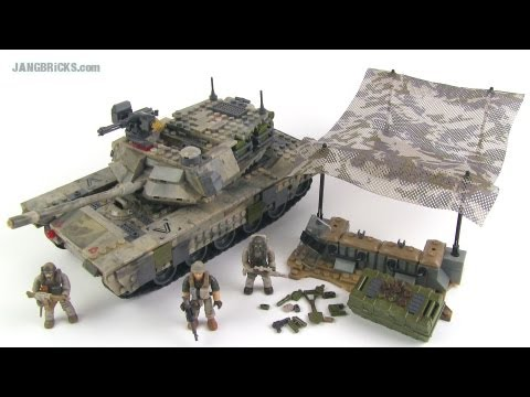 Mega Bloks Call of Duty Heavy Armor Outpost set review!