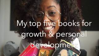My top 5 favorite books for growth & personal personal development #SoulStudywithShelah