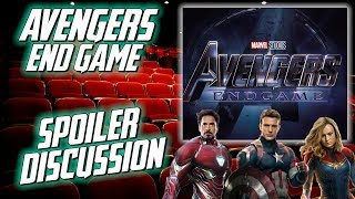 Avengers Endgame Spoiler Discussion - Plot Holes, Questions, Emotions