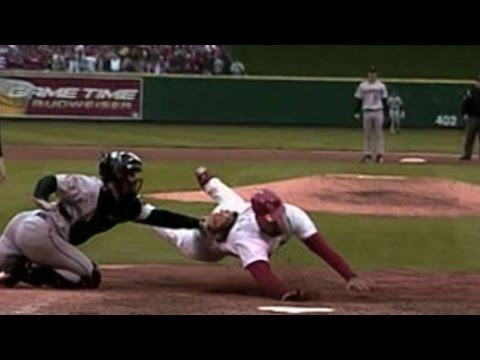 NLCS Gm6: Ausmus tags Pujols out at the plate