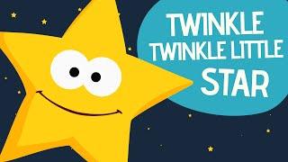 Twinkle Twinkle Little Star   English Nursery Rhymes   Songs for children