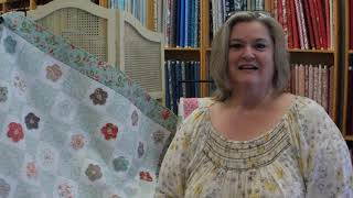 Tour of Cedar Chest Quilt Shoppe and New Villa Rosa Designs quilt pattern designer, Keri Graff