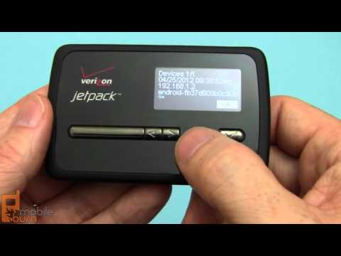 Verizon Jetpack MiFi 4620L video review