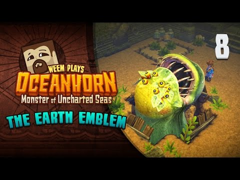 Oceanhorn PC Gameplay. Turmos Boss / Earth Emblem - Part 8
