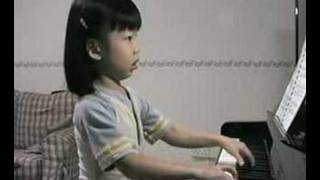 Ethel Poh (5-year-old) - Practicing at Home