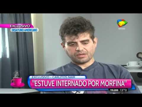 Carlos Nair Menem habló de los días en la cárcel y su adicción a las drogas