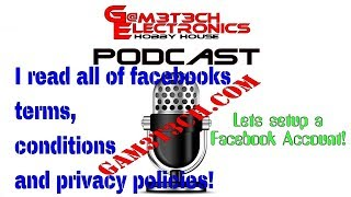 Podcast - EP2 - Facebook Account creation & reading all the terms and policies