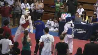 Kavan Reece takes Gold at the Golden State Open Tae Kwon Do Tournament