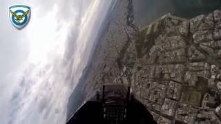 COCKPIT VIEW HELLENIC F-16 THESSALONIKI GREECE 28/10/16