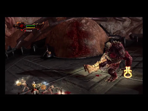 God of War 3 - Kratos vs Cronos Boss Battle Pt 1 (HD)