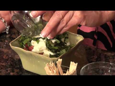 Insalata Caprese Salad   Three Ways