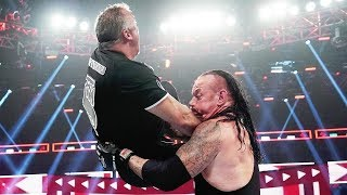 The Undertaker & Roman Reigns vs. Shane McMahon & Drew McIntyre - WWE EXTREME RULES 2019