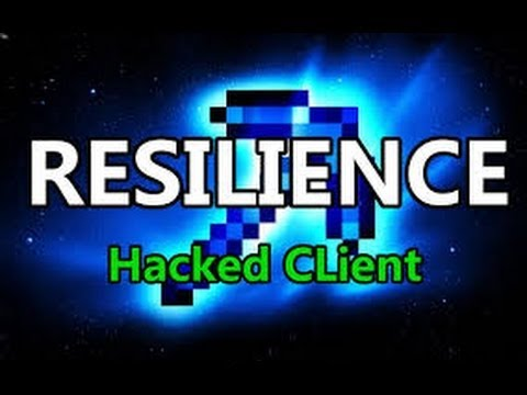 Minecraft Hacked Client Resilience God PvP 1.7.2/1.7.4 Download