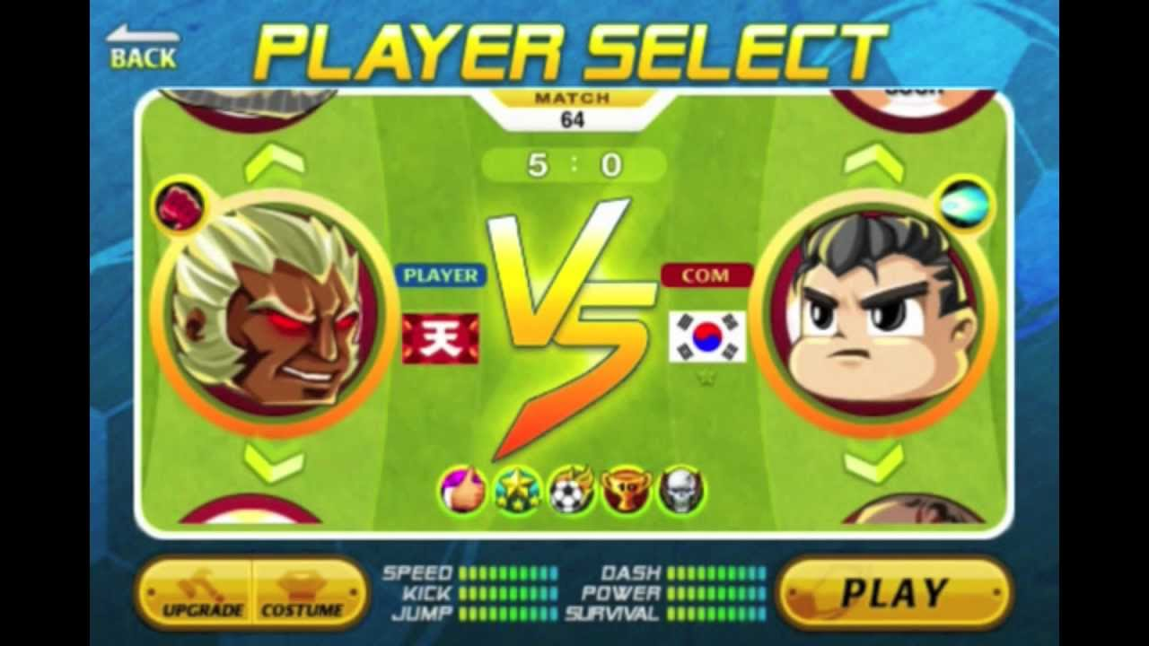head soccer game 2 player online