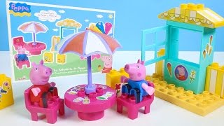 Peppa Pig Ice Cream Parlor Building Toys Play Doh Rainbow Ice Cream DIY La Heladería de Peppa Pig