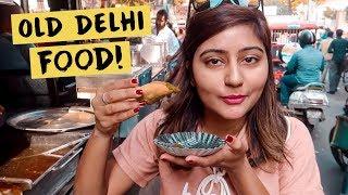 EXPLORING OLD DELHI AND ITS INCREDIBLE STREET FOOD! | Old Delhi Vlog | Kritika Goel