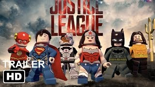 Lego Justice league Official Trailer