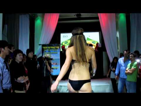 Brazilian Bikini Fashion Show at Temple by Camila Oliveira