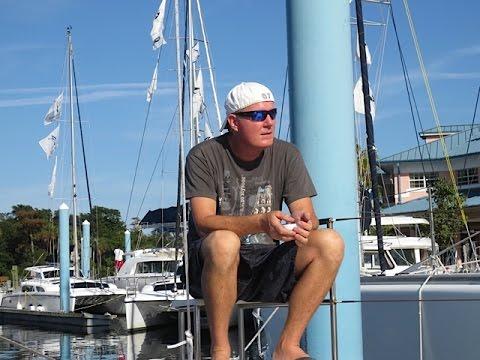 SE1 EP5. Fountaine Pajot Catamaran Blue Water Refit - Part 2. Sailing Trio Travels