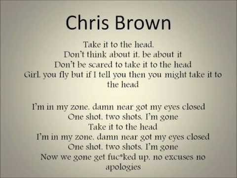 Dj Khaled- Take It To The Head [hq hd+lyrics] (feat Chris Brown, Rick Ross, Nicki Minaj, Lil Wayne) video