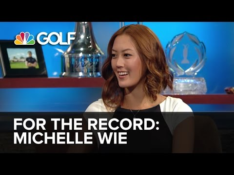 For the Record: Michelle Wie LPGA Pro-Golfer