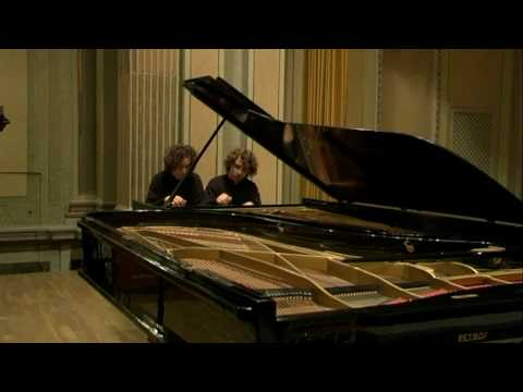 Victor & Luis del Valle play Allegro (Ligeti) Music Videos