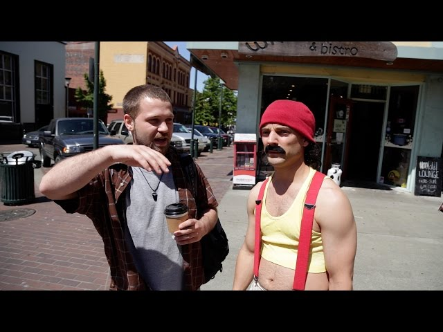 Cheech Searching for Tommy Chong (Cheech and Chong)