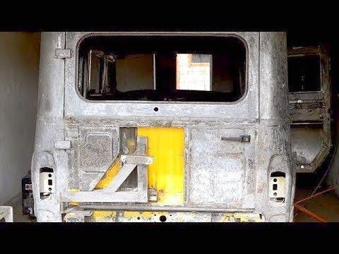 Тюнинг двери уаз 469 своими руками