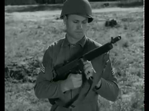 Schmeisser vs. Thompson vs. Grease Gun -- WW2 Submachine Gun Shootoff