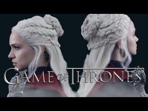Daenerys Season 7 Hairstyle Tutorial - KayleyMelissa