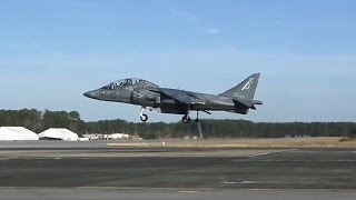 AV-8B Harrier Landing & Takeoff