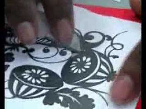 Paper Cutting Templates