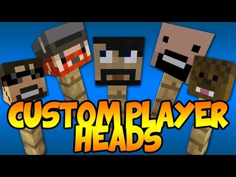 How to Get Custom Player Heads in Minecraft 1.7.4 (No Mods. Super Easy)