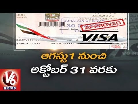 UAE Amnesty Brings Ray Of Hope For Undocumented Indian And Other Expats | V6 News
