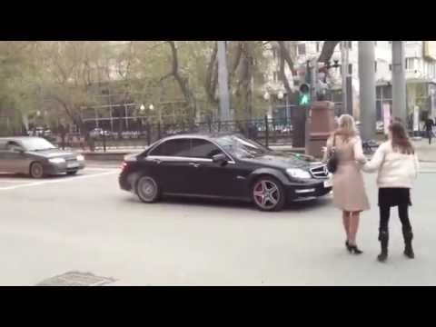 Funny Grooming Mercedes / Zabawny Podryw Mercedesem