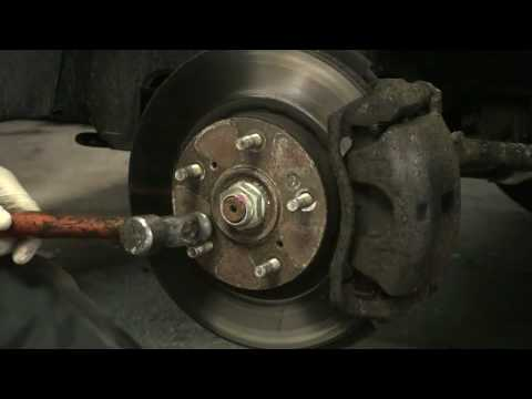 Removing Brake Rotor Screws That Won't Come Out - EricTheCarGuy