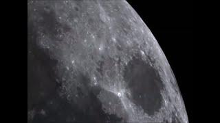 First Quarter Moon Tour Video Celestron Nexstar SE 8 ASI120