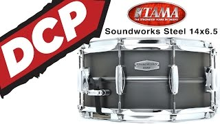 Tama Soundworks Steel Snare Drum 14x6.5 // Video Demo!