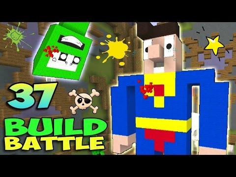 СУПЕРМЕН ПРОТИВ КРИПЕРА - Minecraft Build Battle