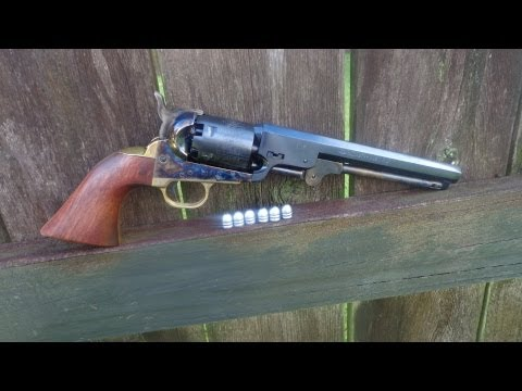 Shooting the 1851 Colt Navy Revolver .36 Caliber