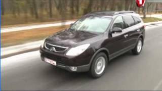 Hyundai ix55 - Первый тест ч.1