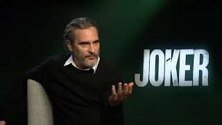 Joaquin Phoenix on playing the mentally ill character