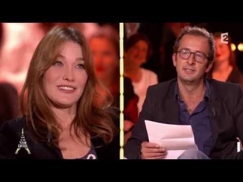 Cyrille Eldin déclare sa flamme à Carla Bruni