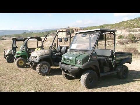 Fieldsports Britain - On test: Kawasaki Mule, JCB WorkMax, John Deere Gator and Kubota RTV