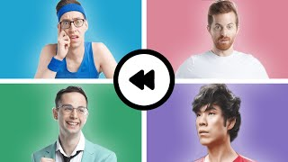 The Try Guys Rewind 2019, from 4 Different Perspectives