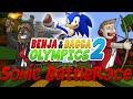 Helium Singing Challenge Benja & Bacca Olympics 2: Sonic Battle Race - Game 7! (Minecraft)