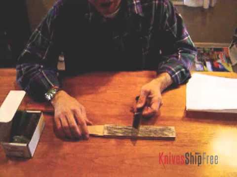 Sharpening Convex Edges (8) - KSF Leather Hone