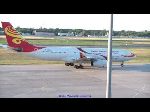 Hainan Airlines Airbus A330-243 B-6088 + Pushbackfahrzeug + Follow Me + Taxiing + Take Off