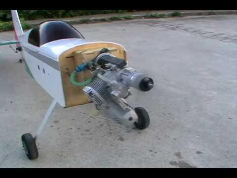 Реактивный двигатель на авиамодель