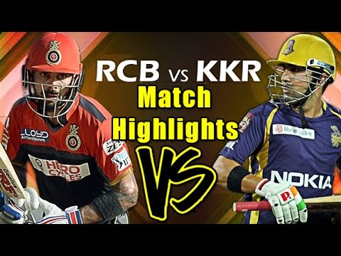 IPL T20: - 2nd May 2016 | Match Highlights | Royal Challengers Bangalore VS Kolkatta Knight Riders